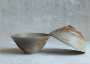 2 all purpose bowls natural shades & hues ... wabi sabi - Marjoke de Heer Keramiek Atelier