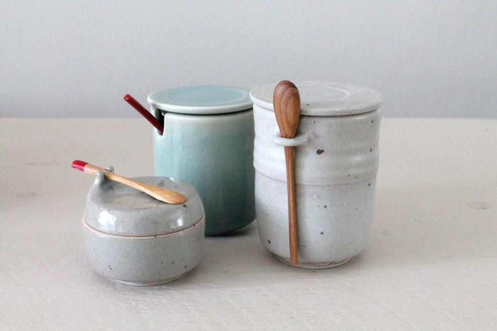 specerijenpotjes celadon