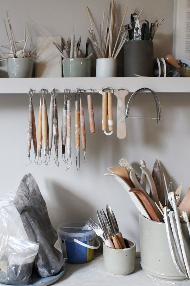 Studio Marjoke de Heer keramiek - my tools