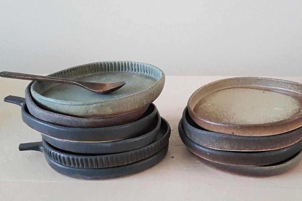 Little organic plates - Marjoke de Heer