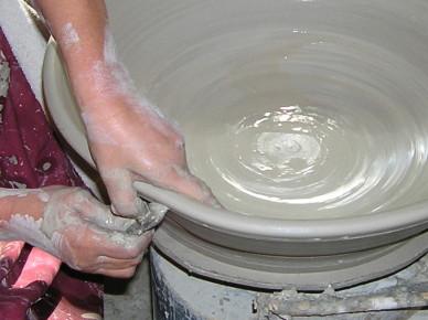 (water)schaal draaien Keramiek Atelier Marjoke de Heer