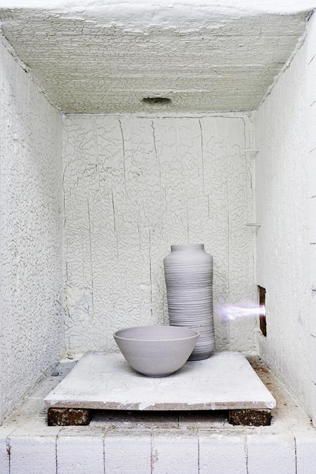 Inside my kiln (fotografie Remko Kraaijeveld) Keramiek Atelier Marjoke de Heer