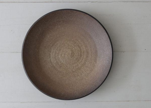 XL (water) bowl burnt brown - Marjoke de Heer Keramiek Atelier