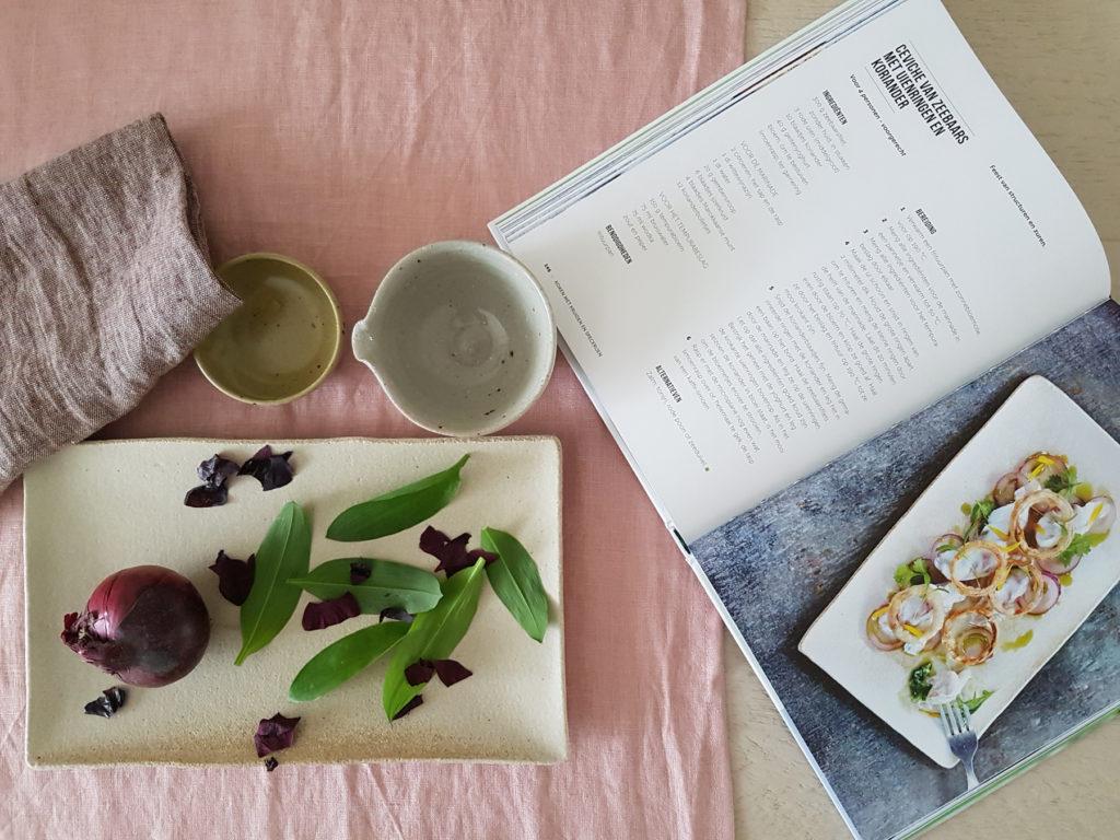 inspiratie mijn servies in kookboek de kracht van kruiden