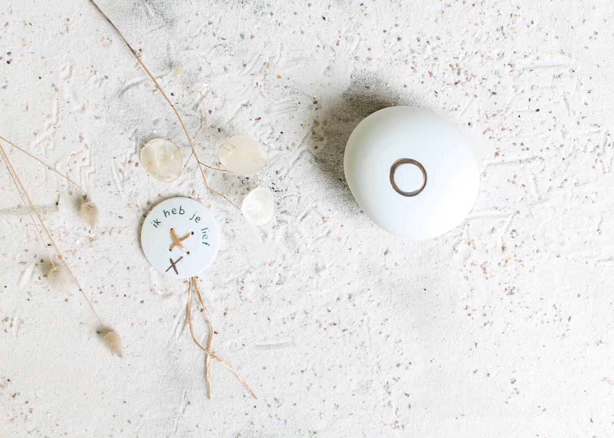 Mini urn - Marjoke de Heer Keramiek Atelier