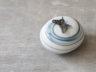 pebble mini-urn met vlindertje