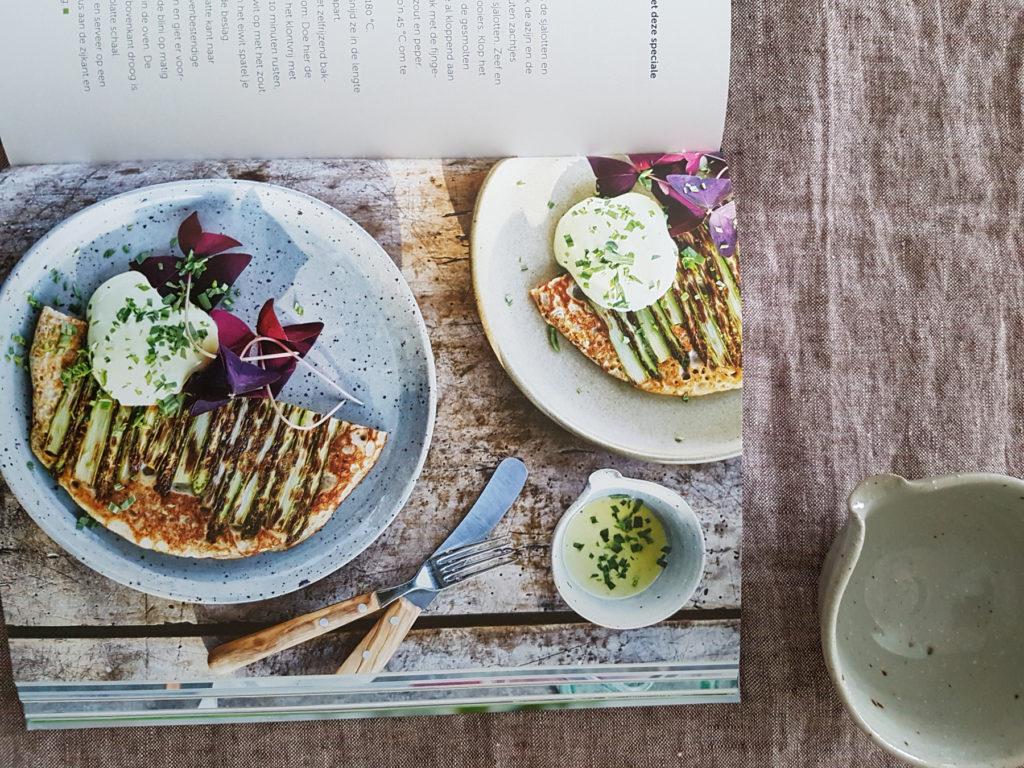 servies Marjoke de Heer in kookboek 'de kracht van kruiden'