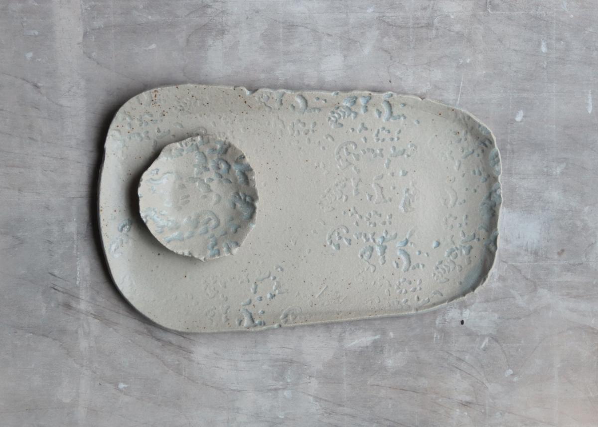 handmade plate wabi sabi