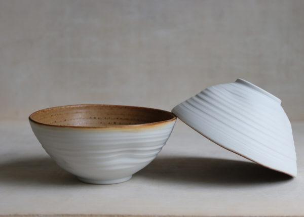 Wabi sabi Temmoku bowls - Marjoke de Heer Keramiek Atelier